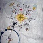 """Панна """"Солнечный круг-мышки вокруг"""". Час..."""
