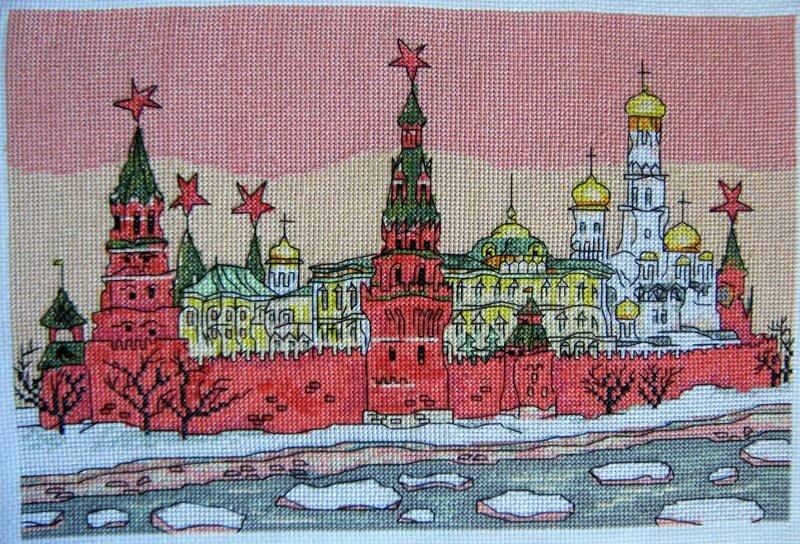 Вышивка города россии 29