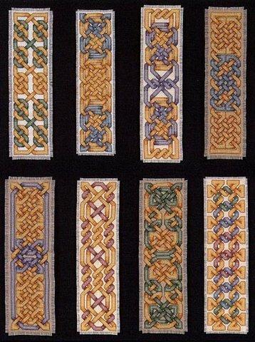 схема вышивки нитками мулине