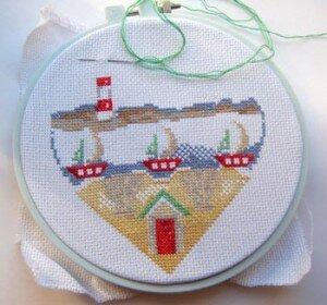 DMC «Seaside heart»