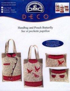 Вышивка крестиком на сумке