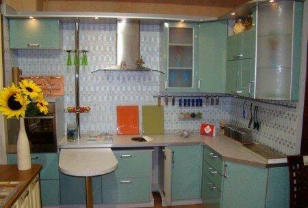 Производство кухонной мебели.