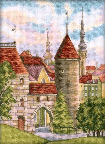 Вышивка Старый Таллинн
