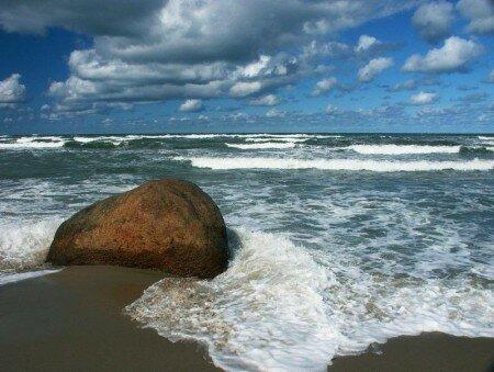 Лето. Пляж. Море.