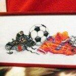 Футбол от Janlynn. Оформление.