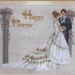 Вышивка - свадьба.