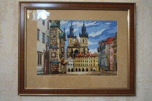 схема вышивки Злата Прага