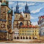 """Простой в работе над вышивкой """"Злата Прага&qu..."""
