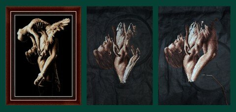 вышивки магия канвы