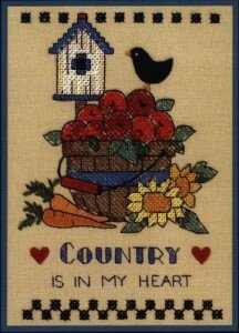 Dimensions. Country in my heart