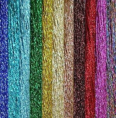Нитки мулине (вышивальные нитки).