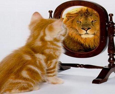 Человек оценивает себя сам.